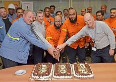 STAREF Relining Milestone - Handover of the 300th Pot to Qatalum Smelter